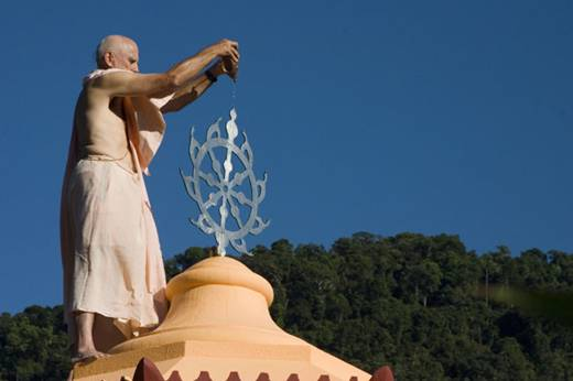 Um Templo para Krishna nas Montanhas de Paraty 06