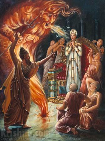 A Ofensa contra Ambarisa Maharaja 01
