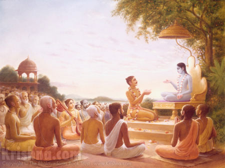 Sukadeva Goswami Instructs Maharaja Pariksit