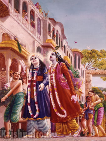 Krishna Enters Mathura