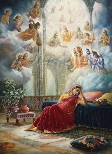 26 I (artigo - krishna) Krishna, Sua Posição, Seu Nascimento e Sua Morada (Janmastami 28) (6500) (pn) (da)10