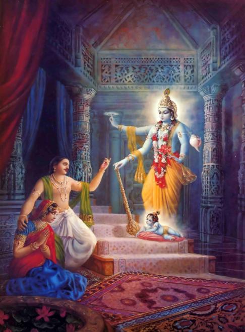 26 I (artigo - krishna) Krishna, Sua Posição, Seu Nascimento e Sua Morada (Janmastami 28) (6500) (pn) (da)11