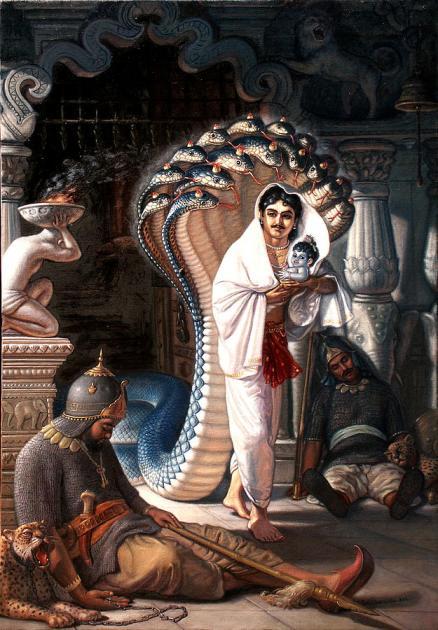 26 I (artigo - krishna) Krishna, Sua Posição, Seu Nascimento e Sua Morada (Janmastami 28) (6500) (pn) (da)12