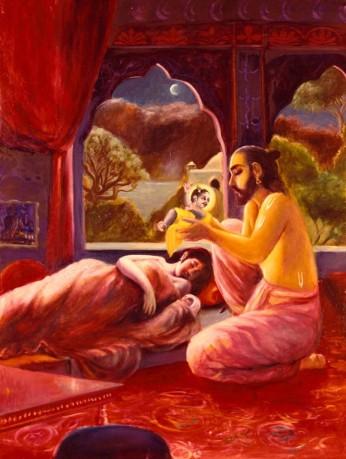 26 I (artigo - krishna) Krishna, Sua Posição, Seu Nascimento e Sua Morada (Janmastami 28) (6500) (pn) (da)13