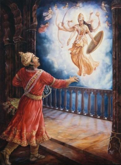 26 I (artigo - krishna) Krishna, Sua Posição, Seu Nascimento e Sua Morada (Janmastami 28) (6500) (pn) (da)14