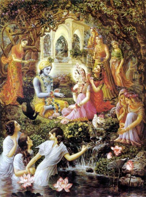 26 I (artigo - krishna) Krishna, Sua Posição, Seu Nascimento e Sua Morada (Janmastami 28) (6500) (pn) (da)17