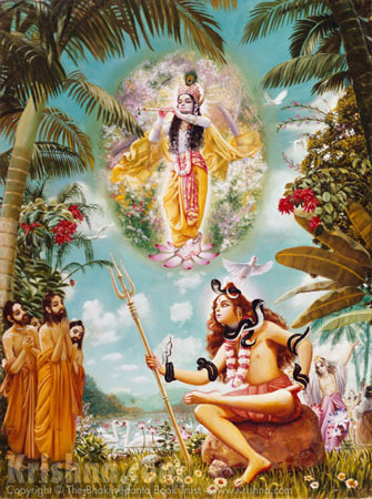 Lord Shiva and the Prachetas