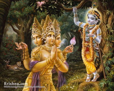 26 I (artigo - krishna) Krishna, Sua Posição, Seu Nascimento e Sua Morada (Janmastami 28) (6500) (pn) (da)3