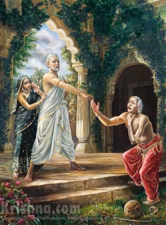Sukracharya Curses King Yayati