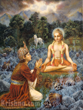 Amsuman Prays to Lord Kapila