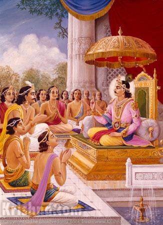 Lord Rshabhadeva Instructs His Sons