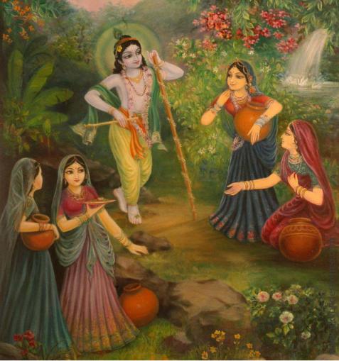 4 R (oração - peregrinação) Dez Versos Para o Refúgio em Govardhana (700) (dia 4, Govardhana Puja)8