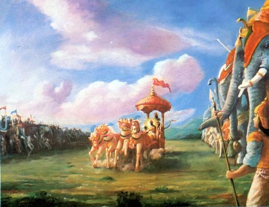 11 SI (entrevista - bhagavad-gita) O Gita Condensado (Dia 12 - aparecimento do Gita) (3000) (bg)02