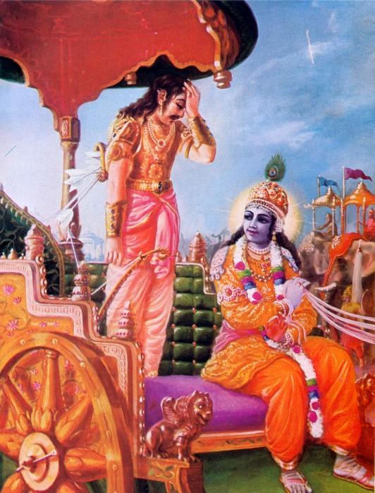 11 SI (entrevista - bhagavad-gita) O Gita Condensado (Dia 12 - aparecimento do Gita) (3000) (bg)03