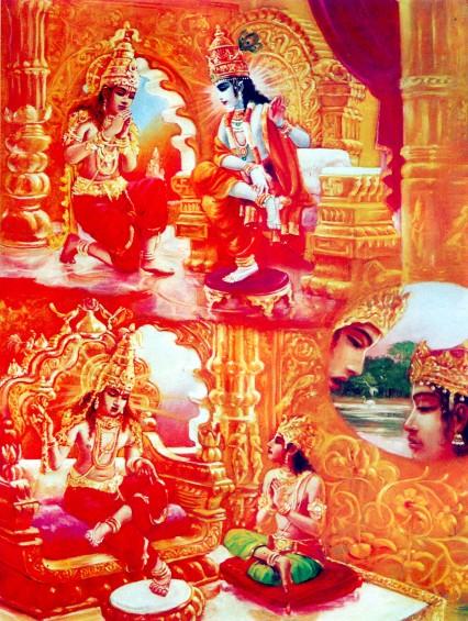 11 SI (entrevista - bhagavad-gita) O Gita Condensado (Dia 12 - aparecimento do Gita) (3000) (bg)05
