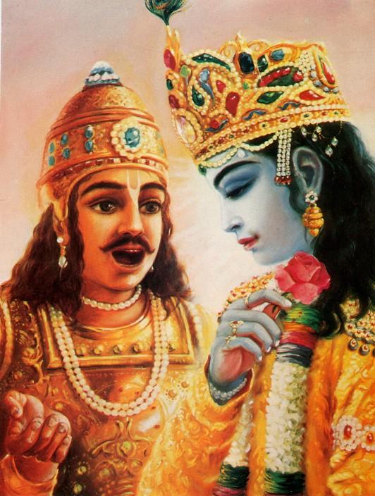 11 SI (entrevista - bhagavad-gita) O Gita Condensado (Dia 12 - aparecimento do Gita) (3000) (bg)06