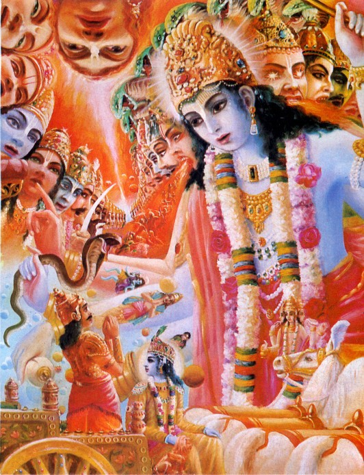 11 SI (entrevista - bhagavad-gita) O Gita Condensado (Dia 12 - aparecimento do Gita) (3000) (bg)07