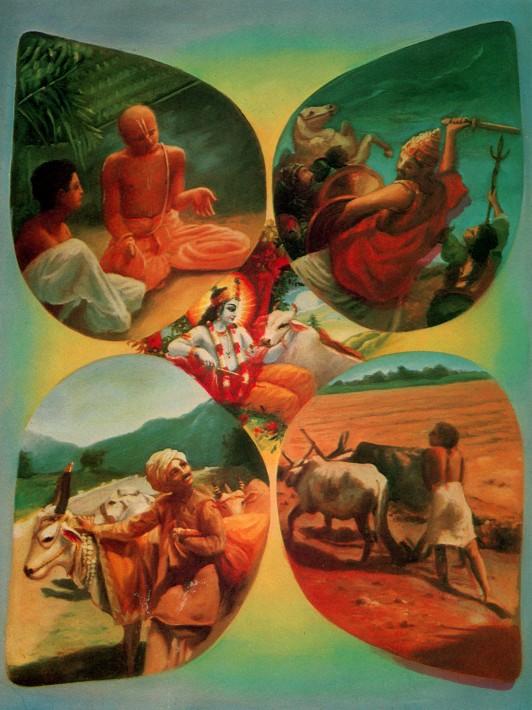 11 SI (entrevista - bhagavad-gita) O Gita Condensado (Dia 12 - aparecimento do Gita) (3000) (bg)10