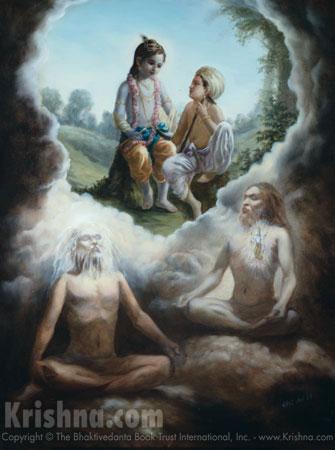 Meditating on Krishna