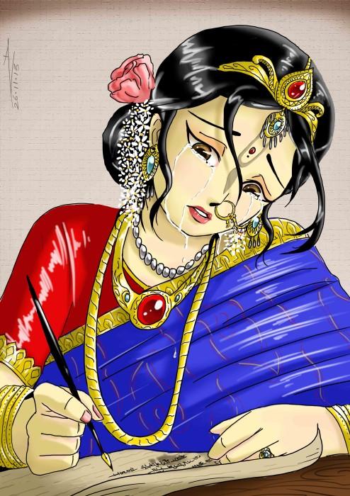 23 SI (história - Krishna) O Casamento de Krishna e Rukmini (3050) (bg)2