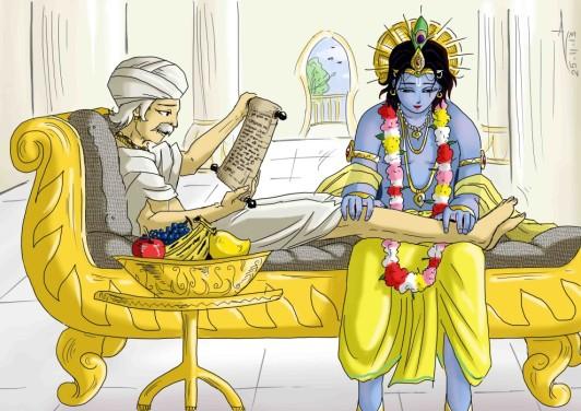 23 SI (história - Krishna) O Casamento de Krishna e Rukmini (3050) (bg)3