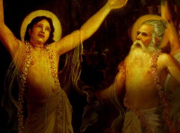 -3 I (história - Caitanya e Associados) O Encontro de Advaita e Chaitanya Mahaprabhu (aparecimento de Advaita dia 5) (2850) (pn)1