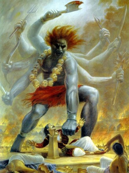 21 SI (história - Semideuses e Semideusas) Shiva e Daksha (7000)3