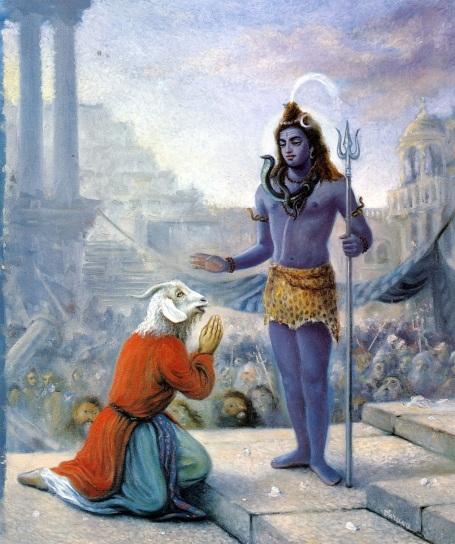 21 SI (história - Semideuses e Semideusas) Shiva e Daksha (7000)5
