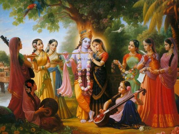 (artigo - O Aspecto Feminino de Deus) Sagrado Feminino, Uma Introdução às Deusas Védicas e Seus Segredos10