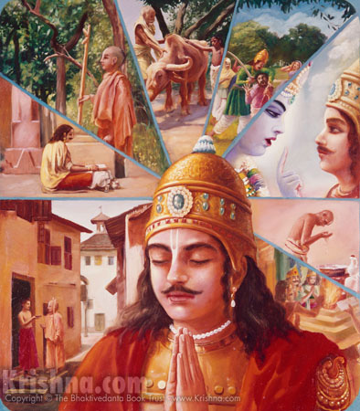 Arjuna Remembers Krishna