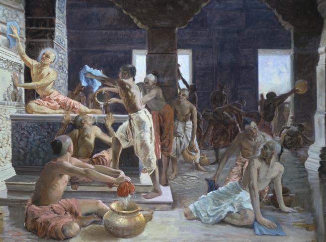 25 I (artigo - Festivais) O Ratha-yatra e a Limpeza do Templo de Gundicha - dia 27 (2801) (bg)