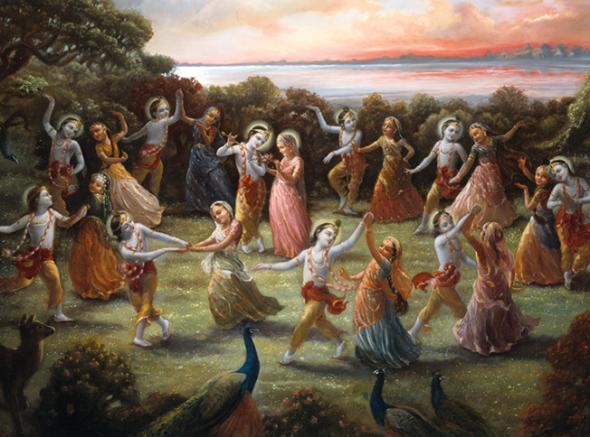 20 R (artigo - Krishna) As 64 Qualidades  de Krsna - 41 a 48 (1200)