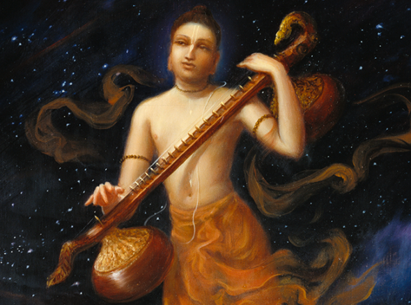 25 I (obra completa - teologia) Narada-bhakti-sutra (ilustrado, bg) (4101)