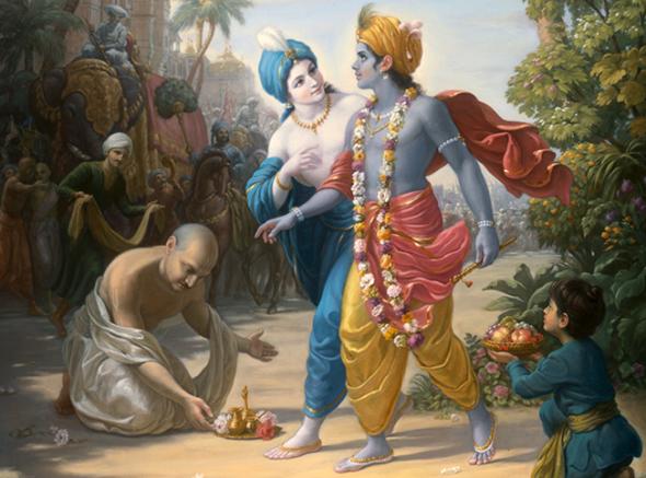 07 R (artigo - Krishna) As 64 Qualidades  de Krsna - 49 a 56 (2300) (bg)