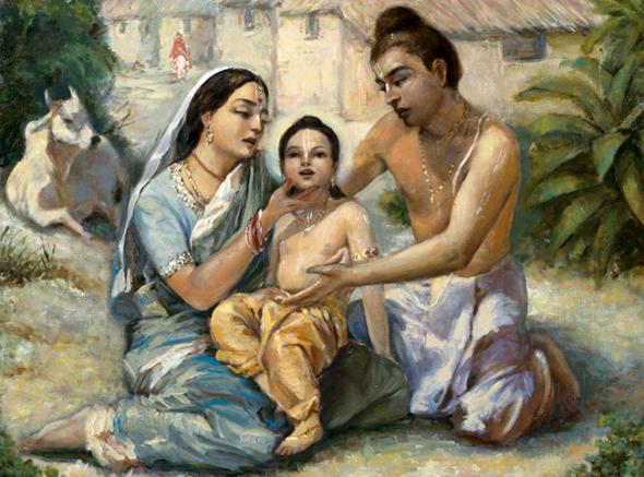 22 R (história - Caitanya e Associados) Passatempos Infantis do Senhor Chaitanya (3302) (bg)