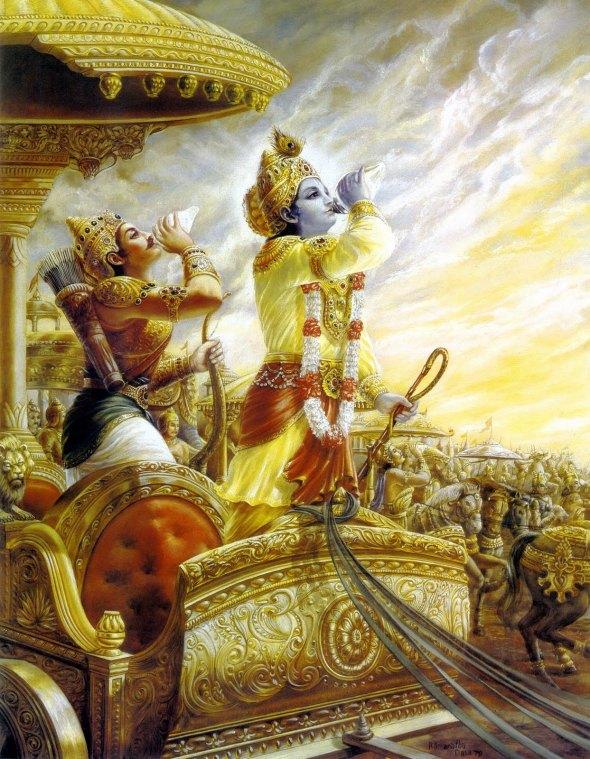 01 I (entrevista - Bhagavad-gita) O Diálogo que Adiou uma Guerra Perguntas e Respostas sobre a Bhagavad-gita (2431)