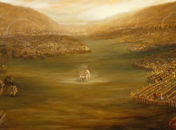 01 I (entrevista - Bhagavad-gita) O Diálogo que Adiou uma Guerra Perguntas e Respostas sobre a Bhagavad-gita (2432)