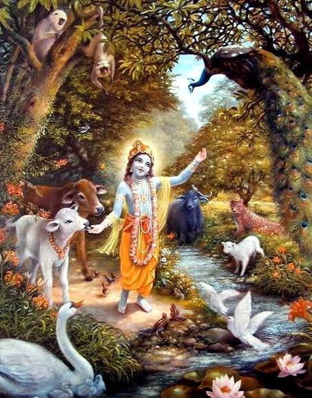 17 I (artigo - Alimentação) Com Krishna no Reino de Paz (879) (ta)