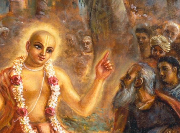 -@ 04 SI (artigo - Caitanya e Associados) O Nascimento do Senhor Chaitanya (GPurnima dia 5, com contagem regressiva) (3250) (bg) (ta)