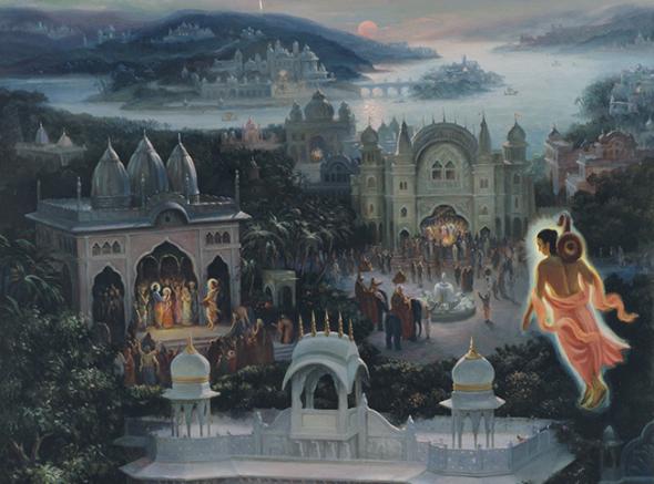 -@ 27 R (história - Krishna) Narada Visita os Dezesseis Mil Palácios de Krishna (3200) (sankirtana) (bg) (ta)