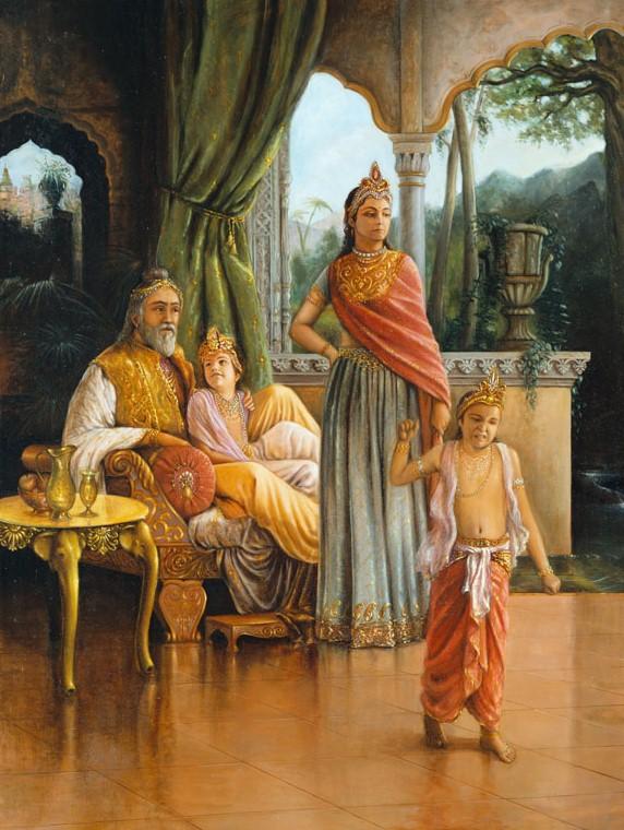 (23) (história - srimad-bhagavatam) Dhruva Maharaja (11000) (ta)2
