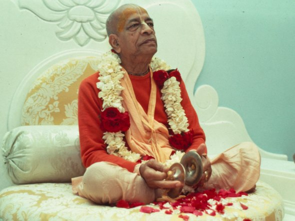 Srila Prabhupada, fundador do Movimento Hare Krishna.