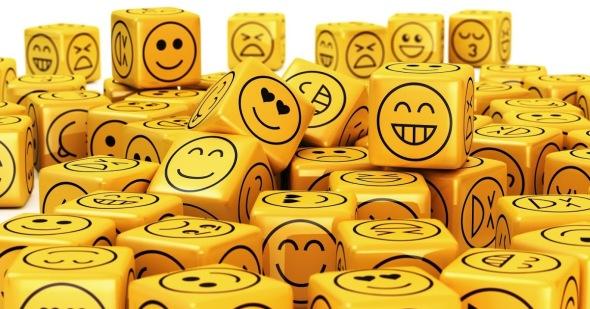 cubos emocionados