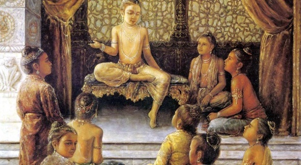 prahlada-instructs-his-classmates-on-the-science-of-bhakti-yoga