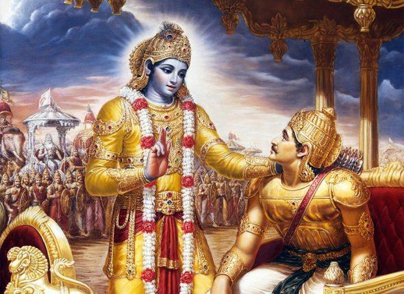 Krishna a Arjuna
