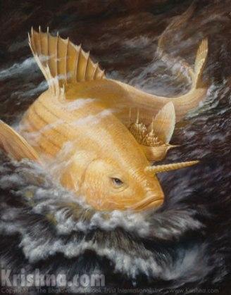 Matsya, The Fish Incarnation