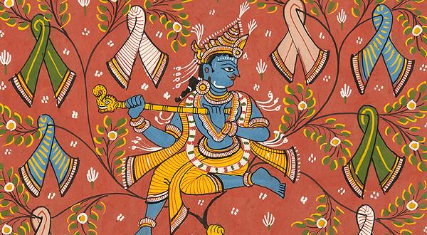 Gopis Pattachitra